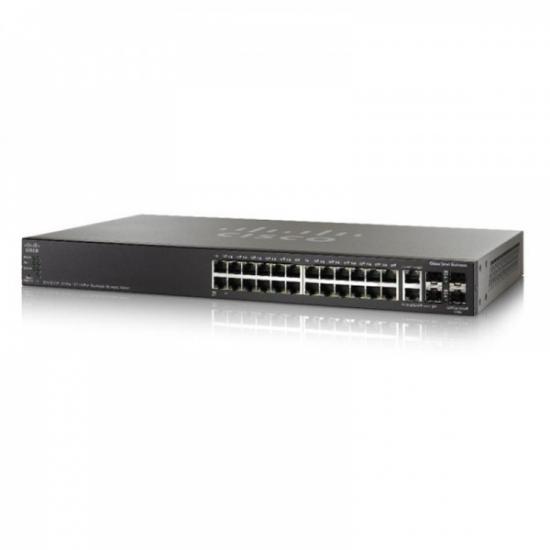 Switch Cisco SG550X-24-K9 24-Port Gigabit Stackable Managed Switch
